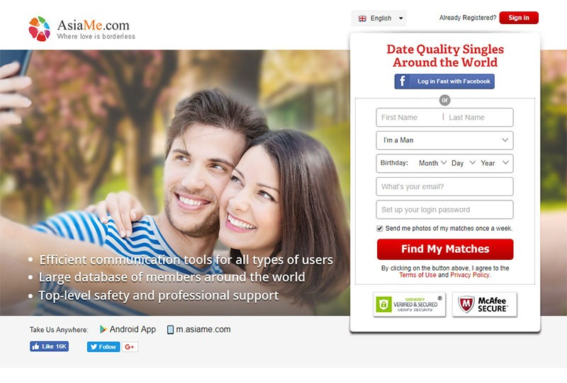 Asian hookup dating app review