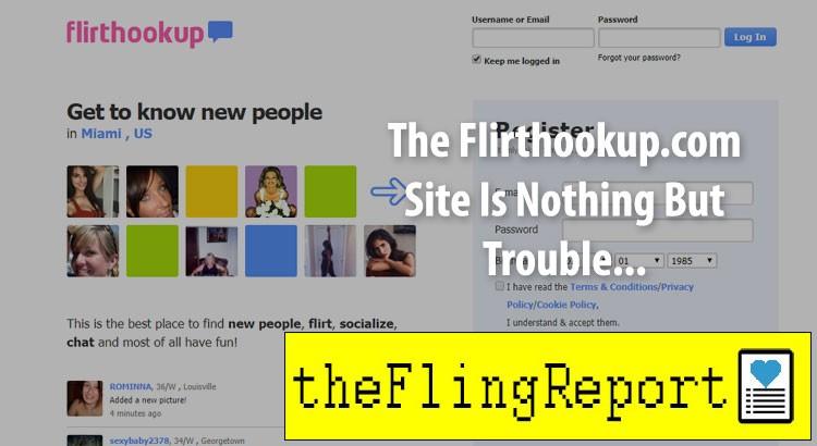 Flirthookup.com homepage