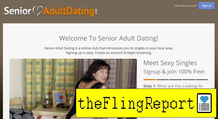 Senior Adult Dating